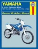 Haynes yamaha 2-stroke motocross bikes 1986-2006: YZ80, YZ85, YZ125, YZ250