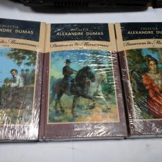 DOAMNA DE MONSOREAU - ALEXANDRE DUMAS - 3 volume