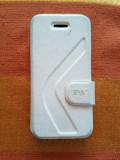 Apple iPhone 5C, 8GB, 1GB RAM, Alb, Husă de protecţie (ca NOU), Neblocat