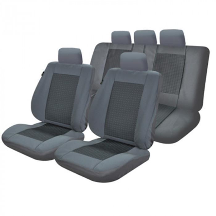 Set huse scaun gri Lux m03