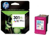 Cartus cerneala HP 301XL (Color - de mare capacitate), Multicolor