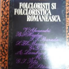 Folcloristi Si Folcloristica Romaneasca - I. C. Chitimia ,549060