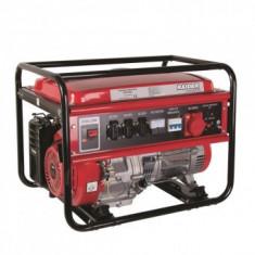 Generator MONOFAZAT+TRIFAZAT, alimentare benzina, Raider RD-GG07, 4 timpi, 5 kW
