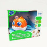 Jucarie pentru baie Hola Toys, pestisorul luminos