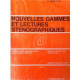 Nouvelles games et lectures stenographiques
