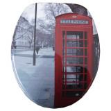 Capac WC MDF Decor 3D LONDON C12