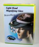 Lupa de cap cu lumina si lentile interschimbabile - Ideal pentru ceasornicari, service gsm!