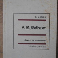 A.M. BUTLEROV - G.V. BICOV