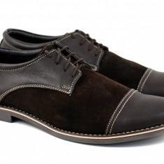 Pantofi barbati casual - eleganti din piele naturala MARO - EZELMBOXVEL