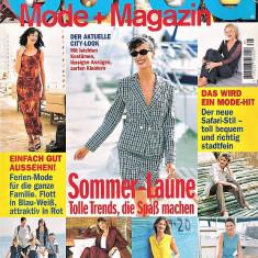 Burda revista moda croitorie insert in limba Germana 60 tipare 5/1999