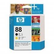 Cap Imprimare Black & Yellow Nr.88 C9381A Original HP Officejet Pro K550 foto