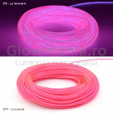 Cumpara ieftin Fir electroluminescent neon flexibil EL wire 2,3 mm