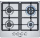 Plita incorporabila Bosch PGH6B5B90 Gaz 4 arzatoare Argintiu