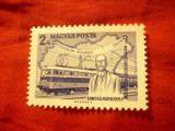 Serie Ungaria 1968 - Personalitati - Ing. Kando Kalman - Locomotiva Electrica 1v, Nestampilat