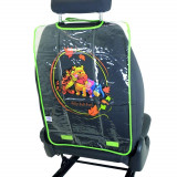 Protectie spatar scaun auto pentru copii Winnie Pooh, 68x44.5cm Kft Auto