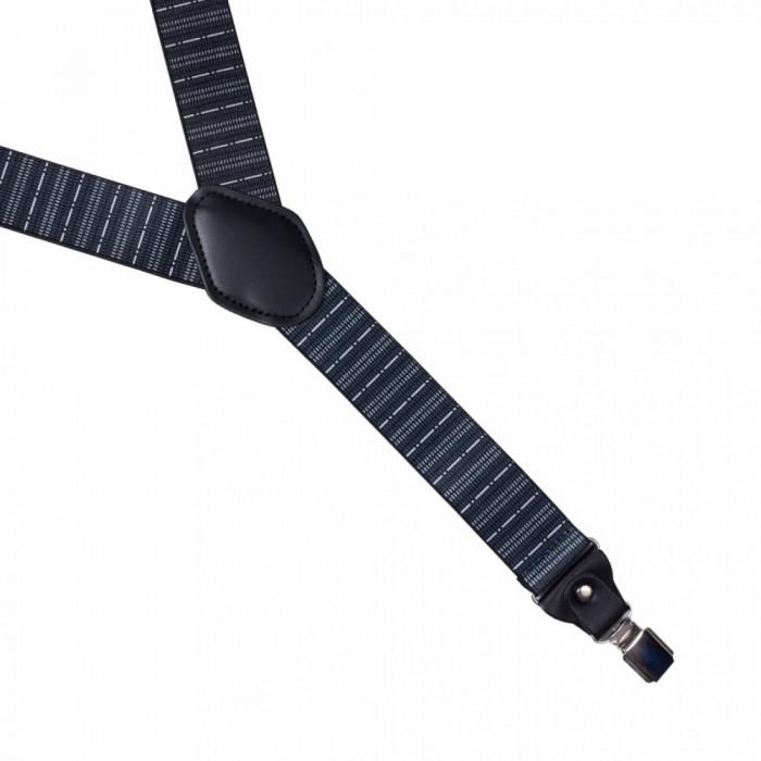 Bretele medii elastice negre Dante