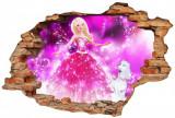Cumpara ieftin Sticker Wall Crack Barbie 2 - 120 x 80 cm