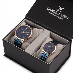Set ceasuri pentru dama si barbati, Daniel Klein Pair, DK11789-3P