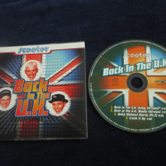Scooter - Back In The U.K. _ maxi cd _ Club Tools ( 1995 , Germania )