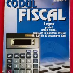 CODUL FISCAL , LEGEA PRIVIND CODUL FISCAL