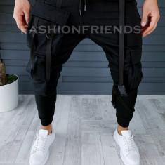 Pantaloni de trening conici stil VAGABOND A8579