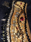 VESTA tip sutien si brau vachi decorat cu pietre si banuti pt.dansuri,T.GRATUIT