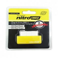 Interfata Chip Tuning Box OBD 2 / Pentru masini pe Benzina / Nitro *NOU