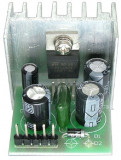 KIT amplificator audio, miniaturizat, TDA2003 - 130130