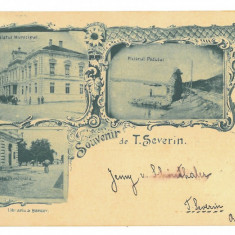 4786 - TURNU-SEVERIN, Litho, Romania - old postcard - used - 1898