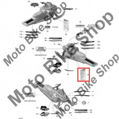 MBS Abtibild avertizare/securitate Ski Doo, nr. 9, Cod Produs: 516003788SK