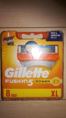 Rezerve Gillette Fusion Power set 8 buc. foto