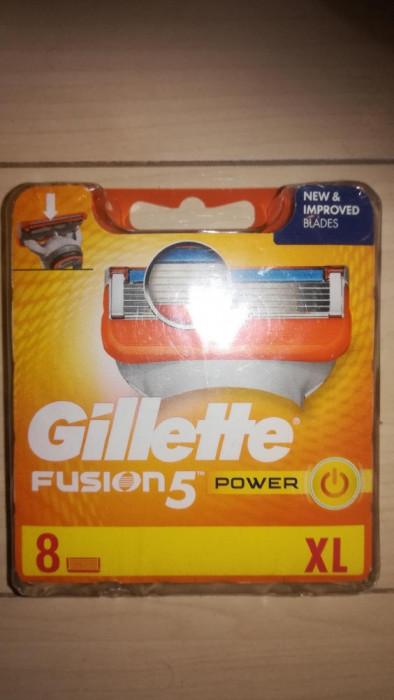Rezerve Gillette Fusion Power set 8 buc.