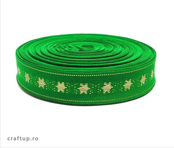 Bandă decorativă Lumi 18mm – verde (rolă 25m)