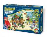 Joc Creionul Fermecat. Puzzle Interactiv. 2x35 Piese. 64677 HP 01, D-Toys