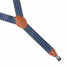Bretele medii elastice bleumarin Joe, ONORE