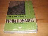 ION  SIMIONESCU  -  FLORA  ROMANIEI  ( 1947, bogat ilustrata, format mai mare )*