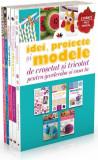 Cumpara ieftin Pachet Idei, proiecte și modele de croșetat și tricotat pentru garderoba și casa ta (5 volume)