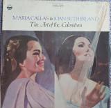 Vinil original SUA, Maria Callas & Joan Sutherland, The arts of the Coloratum