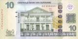 Bancnota Suriname 10 Dolari 2012 - P163b UNC