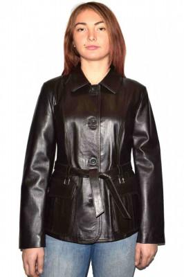 Haina dama, din piele naturala, marca Kurban, Z8-02-95, maro , marime: 4XL foto