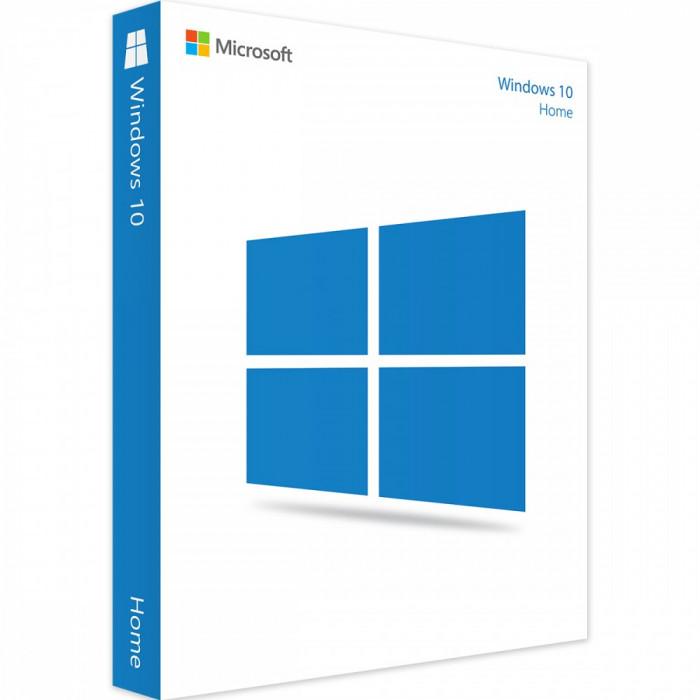 Microsoft Windows 10 Home, Retail, 32/64 Bit, toate limbile, licenta electronica