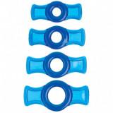 Set inele pentru penis - Albastru
