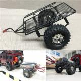 DIY Simulate RC Crawler Metal Trailer RC Car