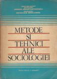 Metode si tehnici ale sociologiei - Miron Constantinescu, O. Berlogea