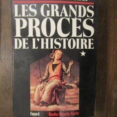 LES GRANDS PROCES DE L'HISTOIRE-FREDERIC POTTECHER 2 VOLUME