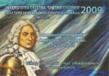 "Romania, Universitatea Crestina ""Dimitrie Cantemir"", calendar de buzunar, 2009"
