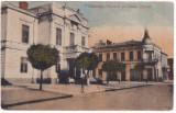 #2479- Romania, Calarasii carte post. circulata 1922: Primaria si Casino Central, Fotografie, Calarasi
