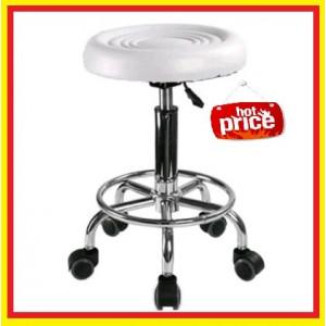 Scaun Salon manichiura/pedichiura  rotativ, hidraulic