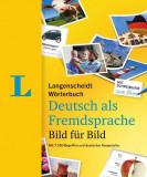 Langenscheidt Wörterbuch Deutsch als Fremdsprache Bild für Bild - Bildwörterbuch
