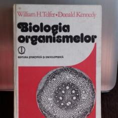 Biologia Organismelor , William H. Telfer , 1986